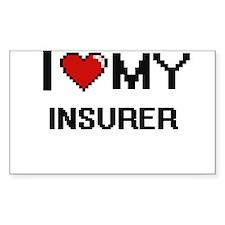 I love my Insurer Decal