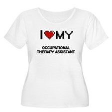 I love my Occupational Therapy A Plus Size T-Shirt