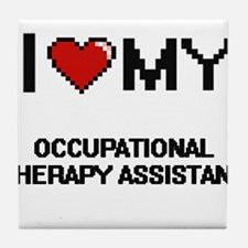 I love my Occupational Therapy Assist Tile Coaster