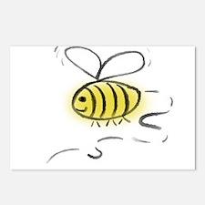 Bee Zoom Postcards (Package of 8)
