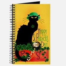 Chat Noir St Patricks Day Journal