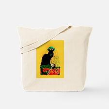 Chat Noir St Patricks Day Tote Bag