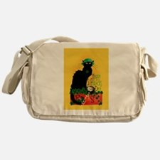 Chat Noir St Patricks Day Messenger Bag