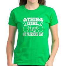 This Girl Loves St Patricks D Tee
