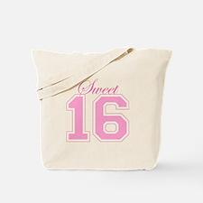 Sweet 16 (Varsity Letters) Tote Bag