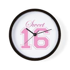Sweet 16 (Varsity Letters) Wall Clock