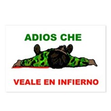 ADIOS CHE Postcards (Package of 8)