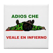 ADIOS CHE Tile Coaster