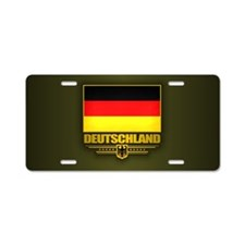 Bundesflagge Aluminum License Plate
