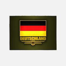 Bundesflagge 5'x7'Area Rug