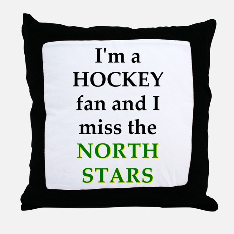 I miss the North Stars Throw Pillow