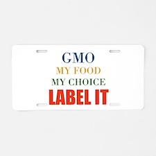 My Choice Aluminum License Plate