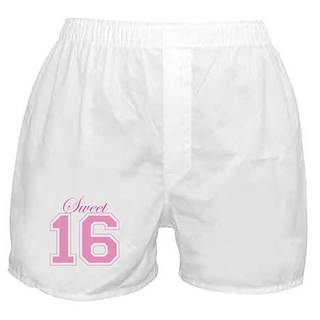 Sweet 16 (Varsity Letters) Boxer Shorts