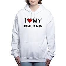 I love my Camera Man Women's Hooded Sweatshirt