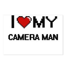 I love my Camera Man Postcards (Package of 8)