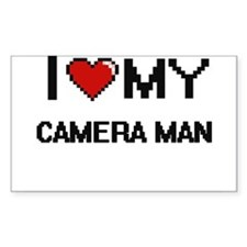 I love my Camera Man Decal