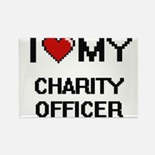 I love my Charity Officer Magnets