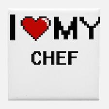 I love my Chef Tile Coaster