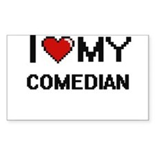 I love my Comedian Decal