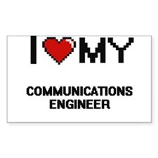 I love my Communications Engineer Decal