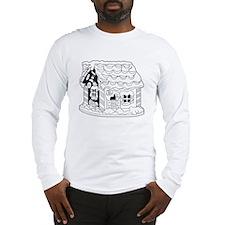 Ginger Bread House Long Sleeve T-Shirt