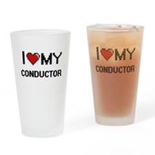 I love my Conductor Drinking Glass
