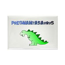 PREGNANTASAURUS Rectangle Magnet