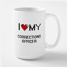 I love my Corrections Officer Mugs
