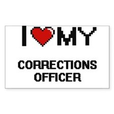 I love my Corrections Officer Decal