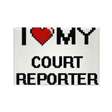 I love my Court Reporter Magnets
