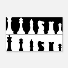 Chess Rectangle Car Magnet