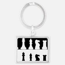 Chess Landscape Keychain