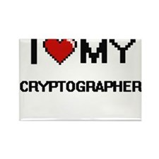 I love my Cryptographer Magnets