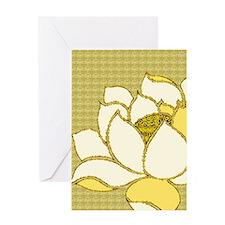 Lotus Flower Hasu Greeting Card
