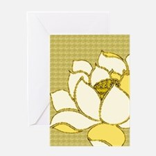 Lotus Flower Hasu Greeting Card