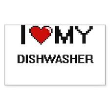 I love my Dishwasher Decal