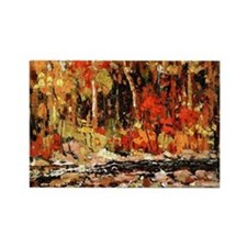 Tom Thomson - The Brook Rectangle Magnet