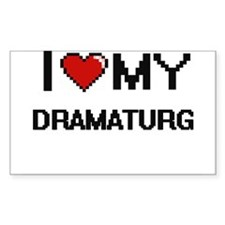 I love my Dramaturg Decal