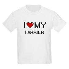 I love my Farrier T-Shirt