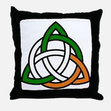 Cute Irish history Throw Pillow