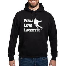 Peace Love Lacrosse Hoodie