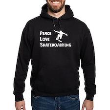 Peace Love Skateboarding Hoodie