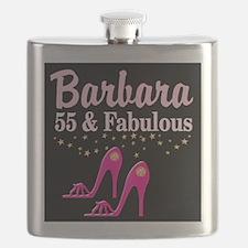 FABULOUS 55TH Flask