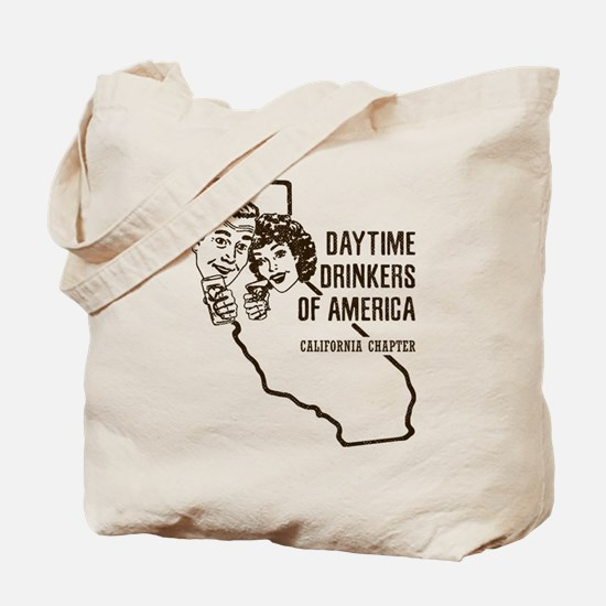 California Daytime Drinkers Tote Bag