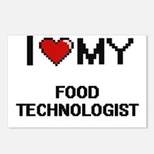 I love my Food Technologi Postcards (Package of 8)
