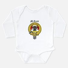 Cute Scottish macleod of skye Long Sleeve Infant Bodysuit