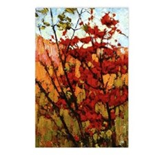 Thomson - Soft Maple in A Postcards (Package of 8)