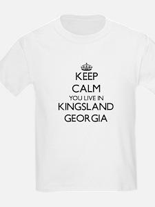 Keep calm you live in Kingsland Georgia T-Shirt