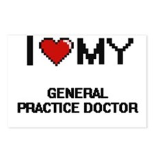 I love my General Practic Postcards (Package of 8)