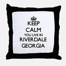 Keep calm you live in Riverdale Georg Throw Pillow